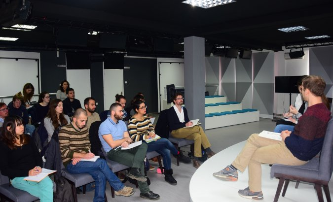 University of York Students Visit NGO AKTIV