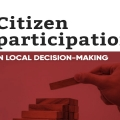 Citizen participation in local decision-making