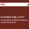 Gender equality in decision making positions at the local level