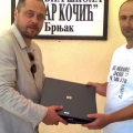 Aktiv presents computers to schools in Zubin Potok