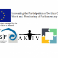 Increasing the Participation of Serbian CSOs in the Work and Monitoring of Parliamentary Committees